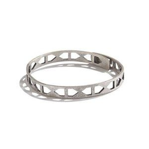 Madewell Tracecraft Bangle Bracelet in Silver